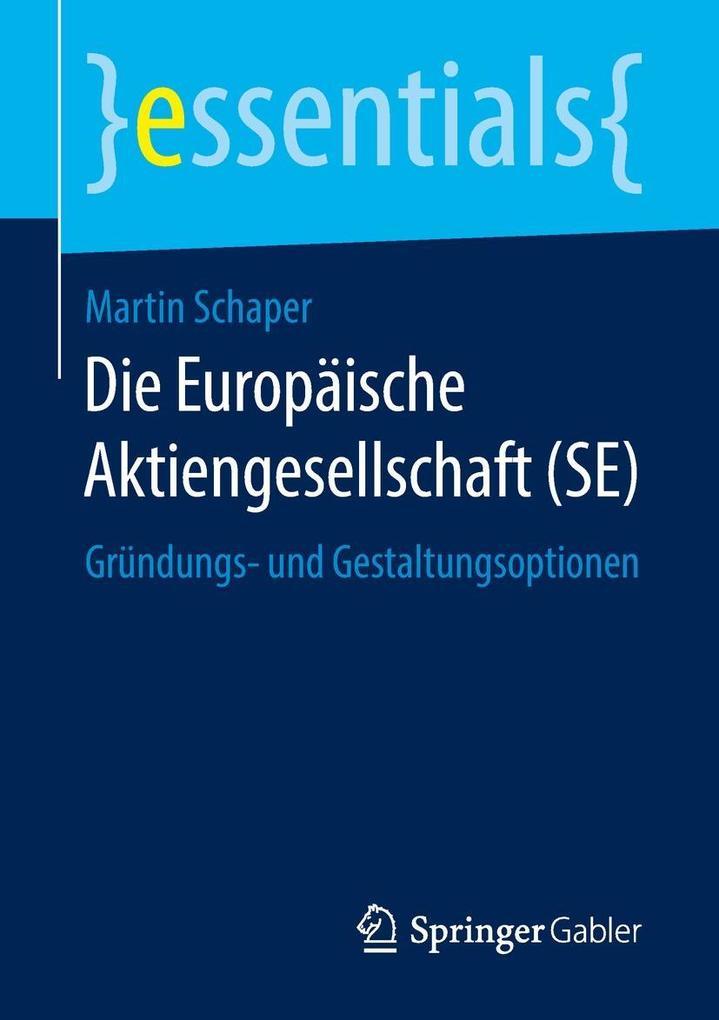 Die Europäische Aktiengesellschaft (SE) als eBo...