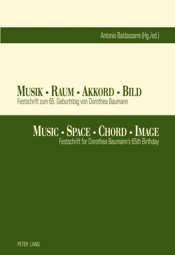 Musik - Raum - Akkord - Bild- Music - Space - C...