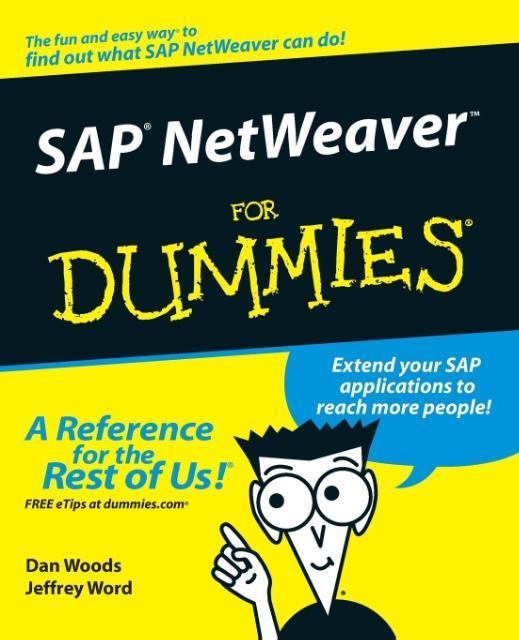 SAP Netweaver for Dummies als Buch von Dan Woods
