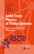 Solid State Physics of Finite Systems