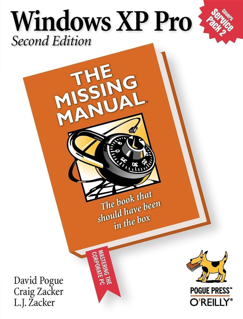 Windows XP Pro: The Missing Manual: The Missing Manual als Buch (kartoniert)
