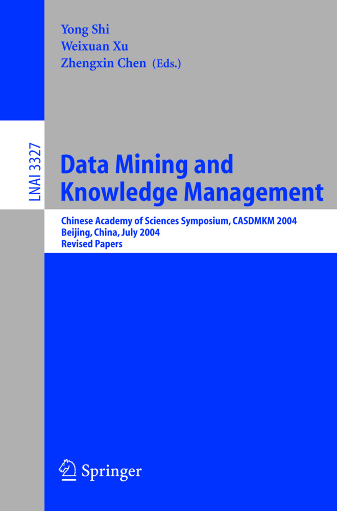 Data Mining and Knowledge Management als Buch von