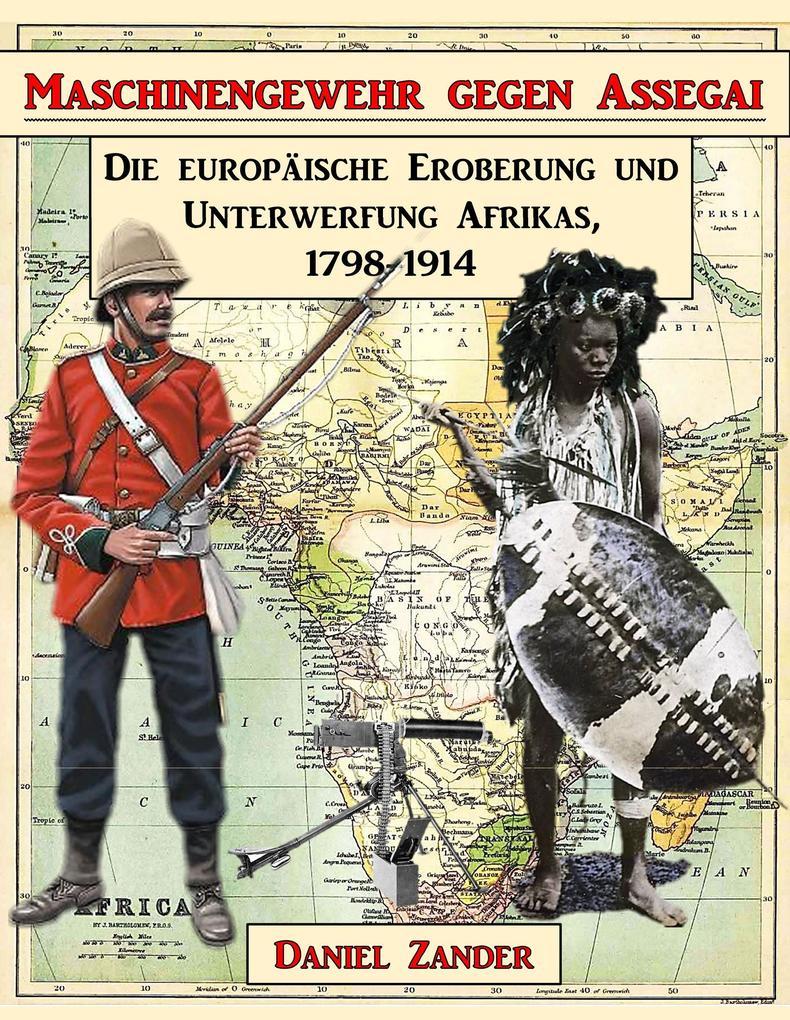 Maschinengewehr gegen Assegai als Buch