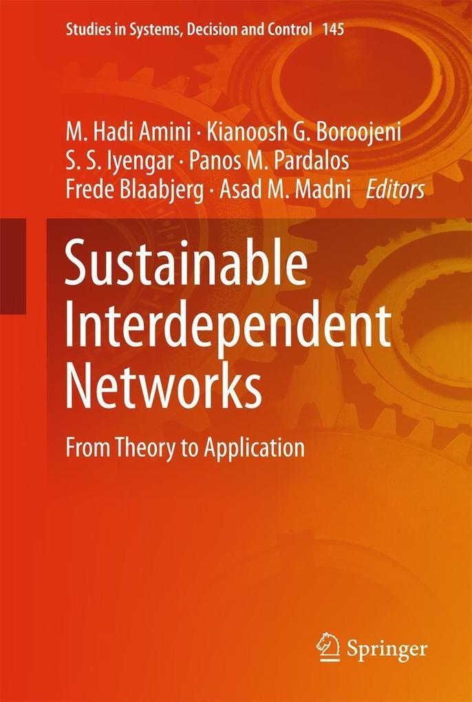 Sustainable Interdependent Networks als eBook D...