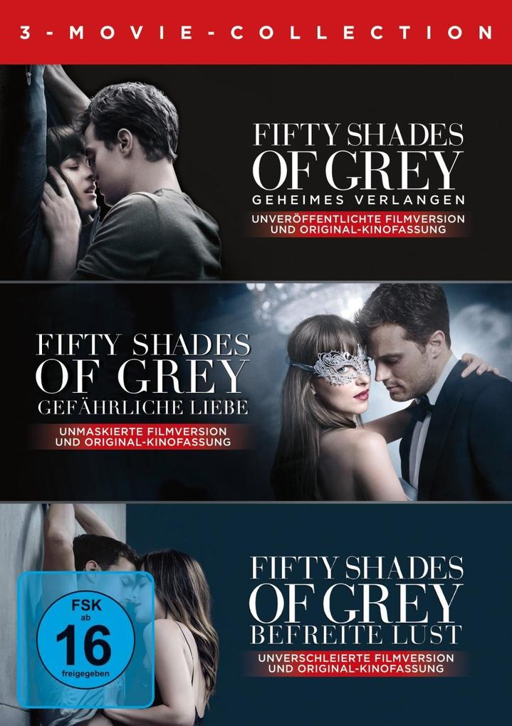 Fifty Shades of Grey - 3 Movie - Collection als DVD