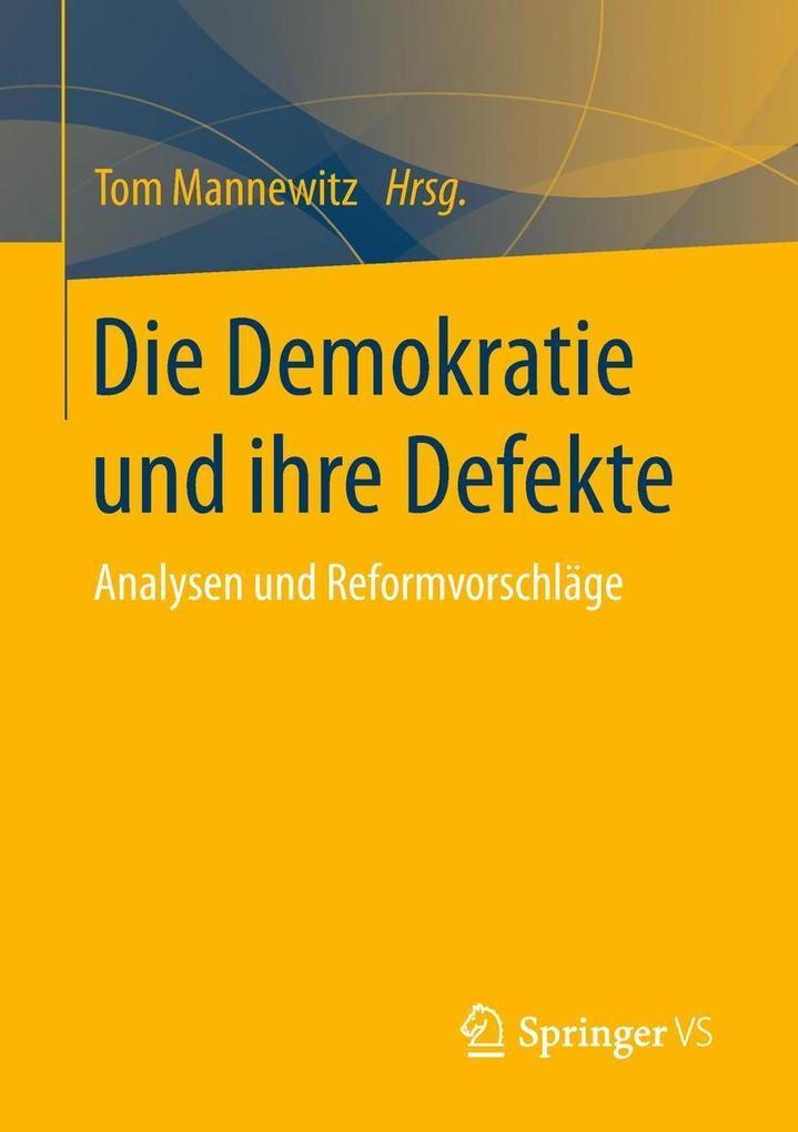 Die Demokratie und ihre Defekte als eBook Downl...