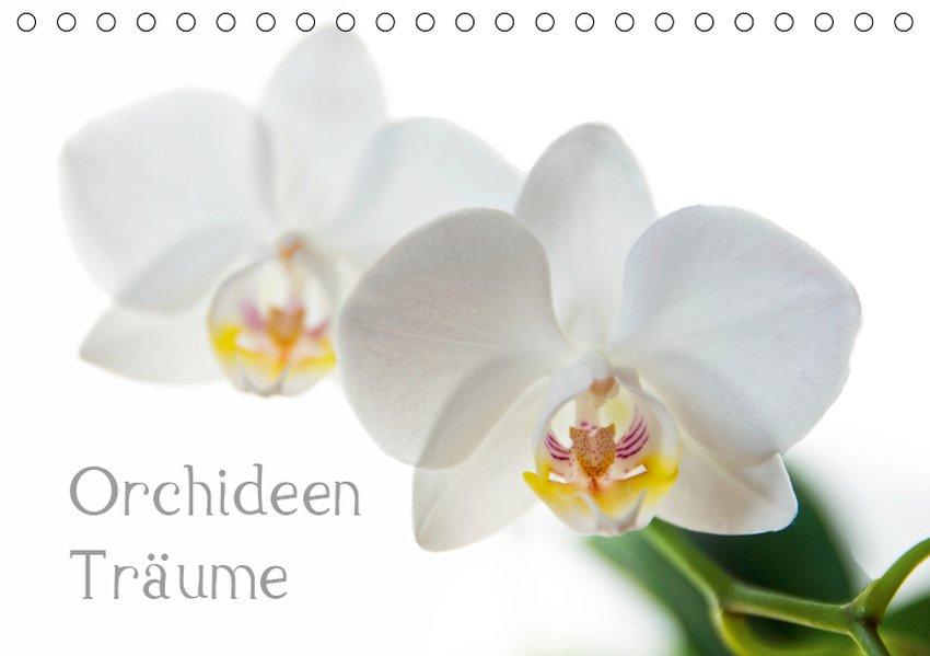 Orchideen Träume (Tischkalender 2019 DIN A5 quer)