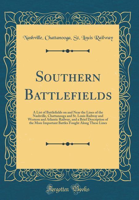 Southern Battlefields als Buch von Nashville Ch...