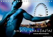 public phantasies - erotische Männerfotografie (Tischkalender 2019 DIN A5 quer)