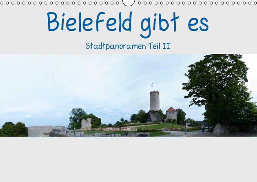 Bielefeld gibt es! Stadtpanoramen Teil 2 (Wandk...