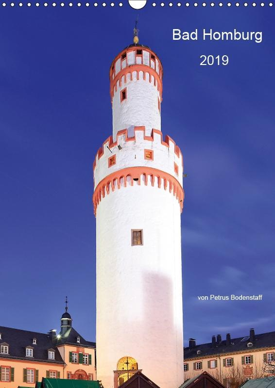 Bad Homburg 2019 von Petrus Bodenstaff (Wandkal...