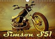 Simson S51 (Wandkalender 2019 DIN A4 quer)