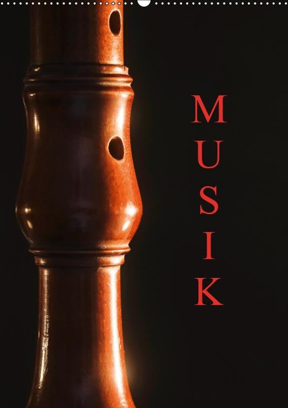 Musik (Wandkalender 2019 DIN A2 hoch)
