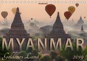 MYANMAR Goldenes Land (Tischkalender 2019 DIN A5 quer)