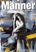 Männer - übermalte Aktfotografien (Wandkalender 2019 DIN A3 hoch)