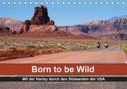 Born to be Wild - Mit der Harley durch den Südwesten der USA (Tischkalender 2019 DIN A5 quer)