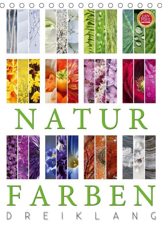 Natur Farben Dreiklang (Tischkalender 2019 DIN ...