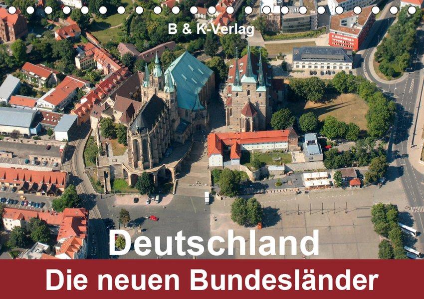 Deutschland - Die neuen Bundesländer (Tischkale...