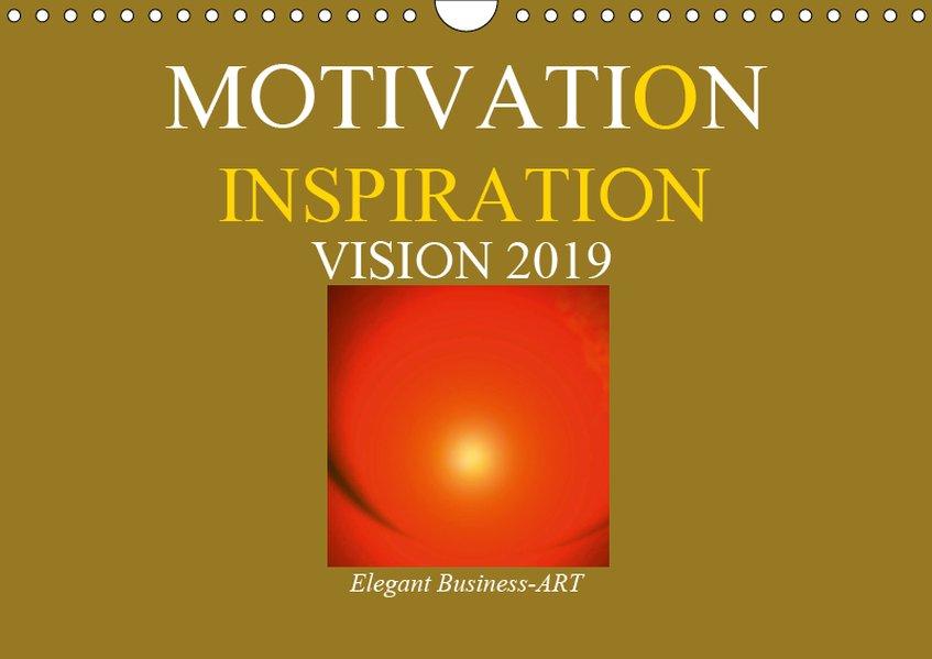 MOTIVATION - INSPIRATION - VISION 2019 (Wandkal...