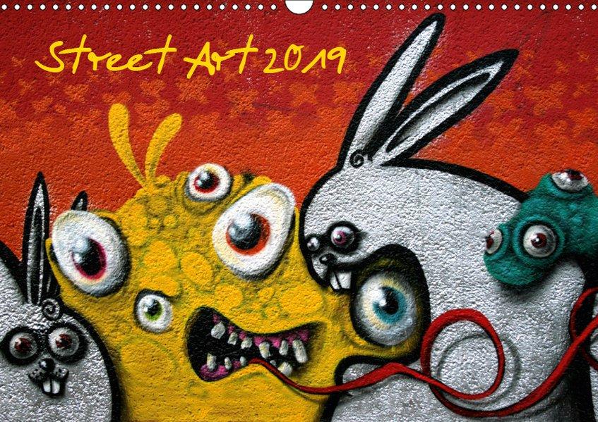 Street-Art 2019 / CH-Version (Wandkalender 2019...