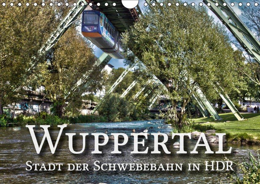 Wuppertal - Stadt der Schwebebahn in HDR (Wandk...
