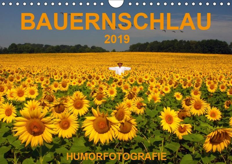 BAUERNSCHLAU 2019 (Wandkalender 2019 DIN A4 quer) als Kalender