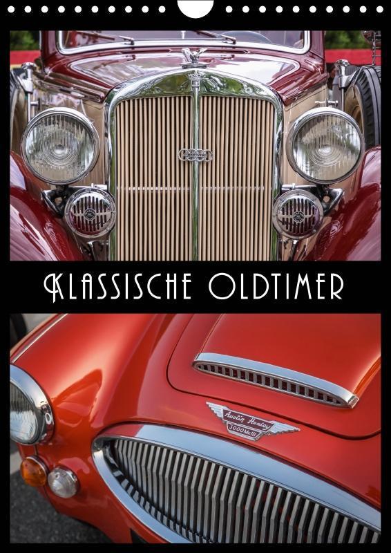 Klassische Oldtimer (Wandkalender 2019 DIN A4 h...