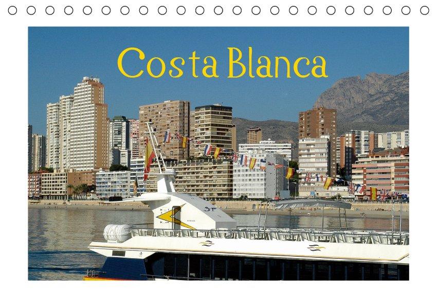 Costa Blanca (Tischkalender 2019 DIN A5 quer)