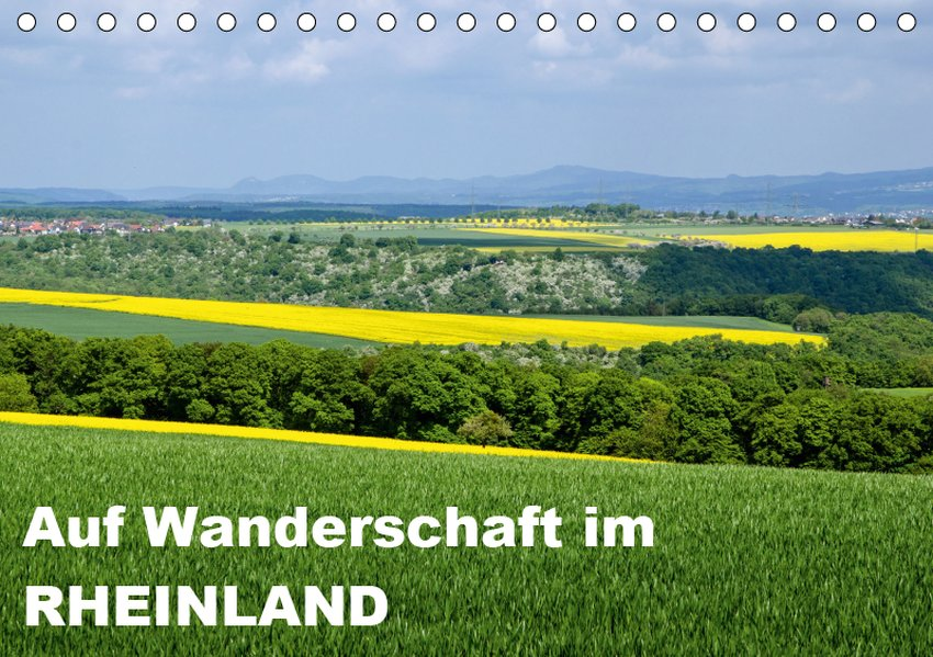 Auf Wanderschaft im Rheinland (Tischkalender 20...