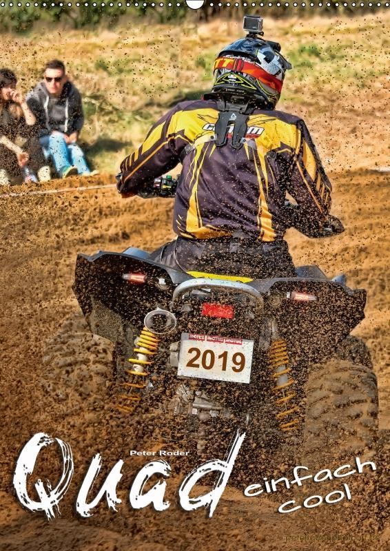 Quad - einfach cool (Wandkalender 2019 DIN A2 h...