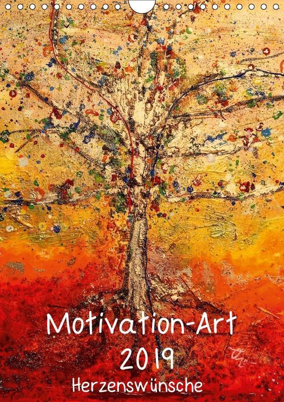 Motivation-Art 2019 (Wandkalender 2019 DIN A4 h...