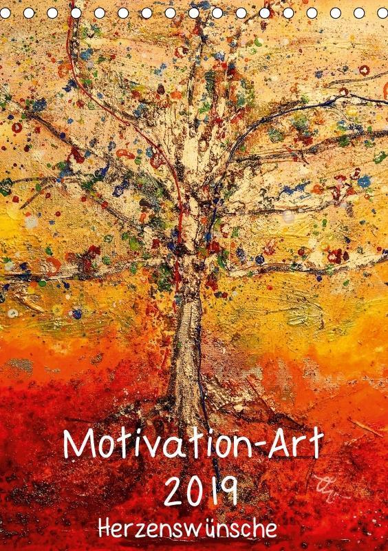 Motivation-Art 2019 (Tischkalender 2019 DIN A5 ...