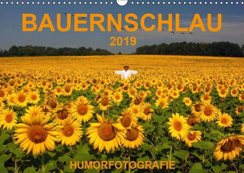 BAUERNSCHLAU 2019 (Wandkalender 2019 DIN A3 quer) als Kalender