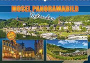 Mosel Panorama Kalender 2019 mit Planungsfunktion (Wandkalender 2019 DIN A2 quer)