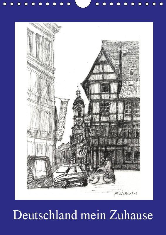 Deutschland mein Zuhause (Wandkalender 2019 DIN...