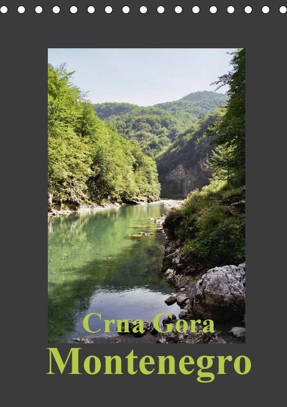 Crna Gora - Montenegro (Tischkalender 2019 DIN ...