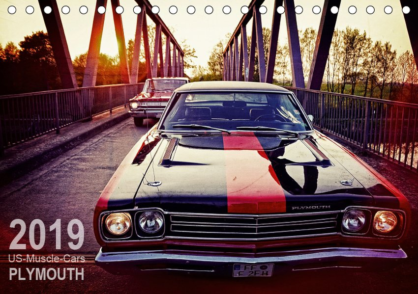 US-Muscle-Cars - Plymouth (Tischkalender 2019 D...