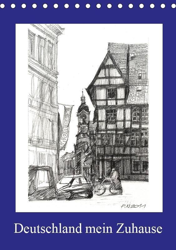 Deutschland mein Zuhause (Tischkalender 2019 DI...