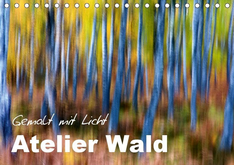 Atelier Wald - gemalt mit Licht (Tischkalender ...