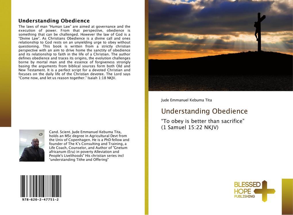 Understanding Obedience als Buch von Jude Emman...