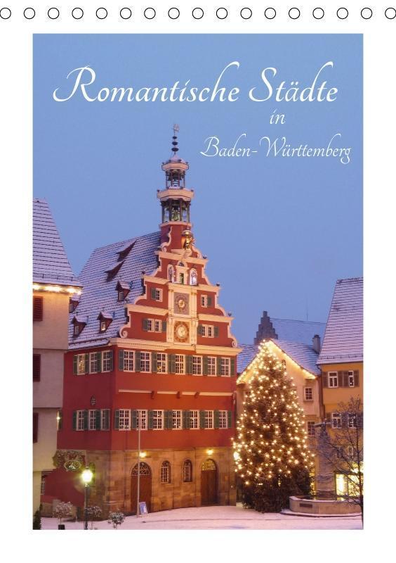 Romantische Städte in Baden-Württemberg (Tischk...