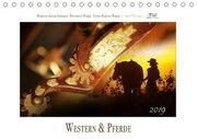 Western und PferdeCH-Version (Tischkalender 2019 DIN A5 quer)