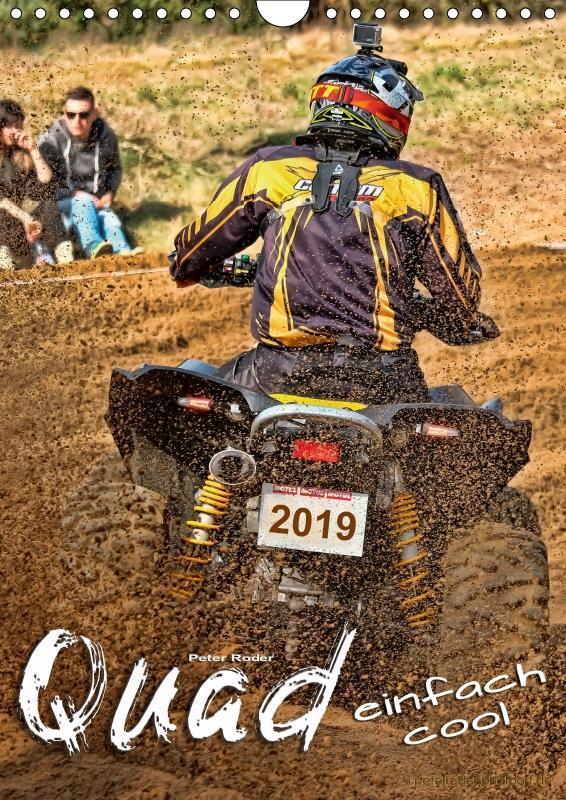 Quad - einfach cool (Wandkalender 2019 DIN A4 h...