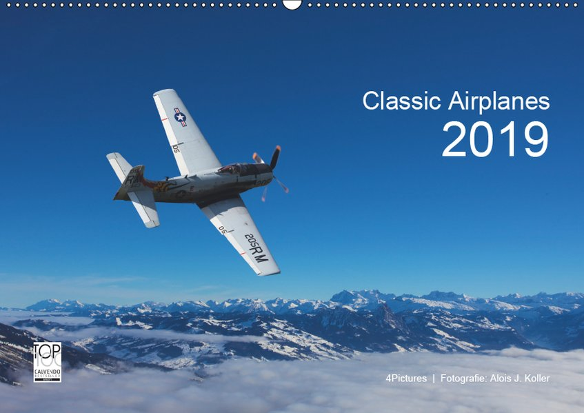 Classic Airplanes 2019CH-Version (Wandkalender ...