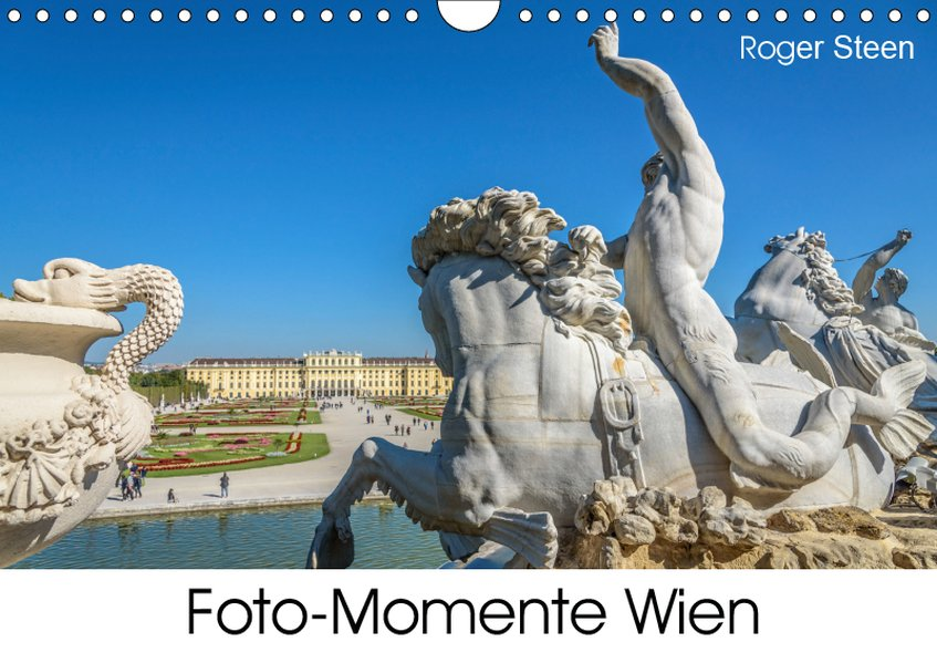 Foto-Momente Wien (Wandkalender 2019 DIN A4 quer)