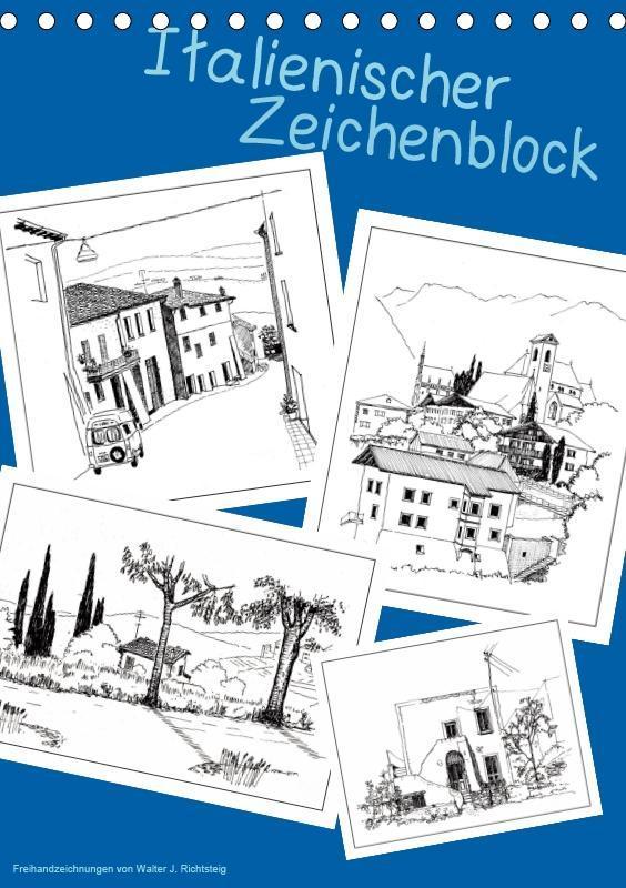 Italienischer Skizzenblock (Tischkalender 2019 ...