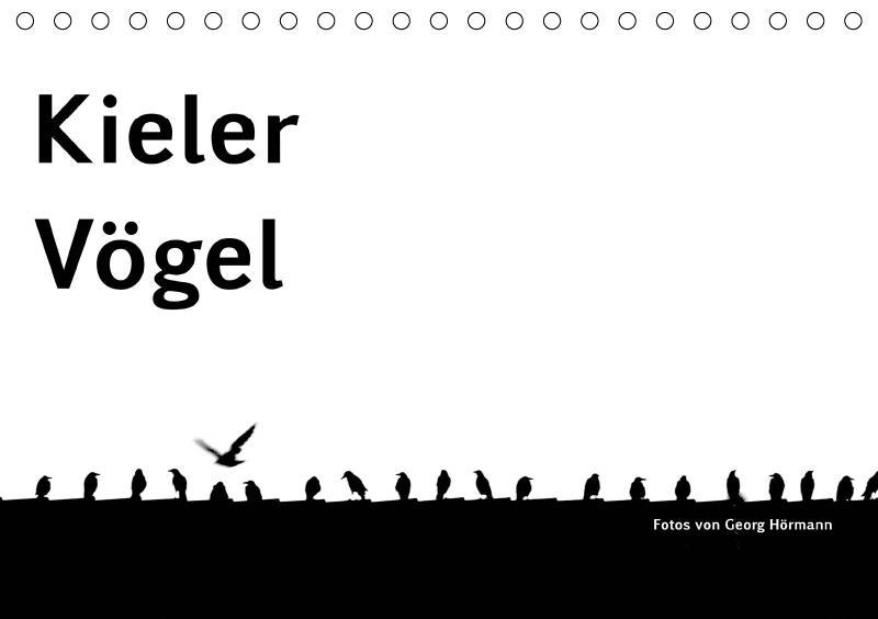 Kieler Vögel (Tischkalender 2019 DIN A5 quer)