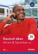 Deutsch üben Hören & Sprechen A2. Buch mit MP3-CD