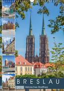 BRESLAU Historisches Stadtherz (Wandkalender 2019 DIN A3 hoch)