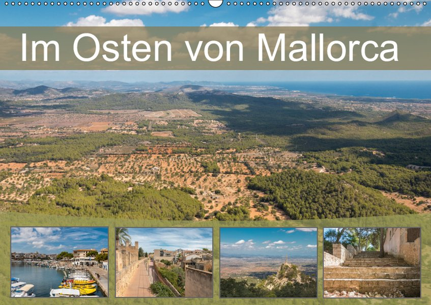 Im Osten von Mallorca (Wandkalender 2019 DIN A2...
